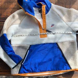 Nike 1/2 zip Sherpa pullover